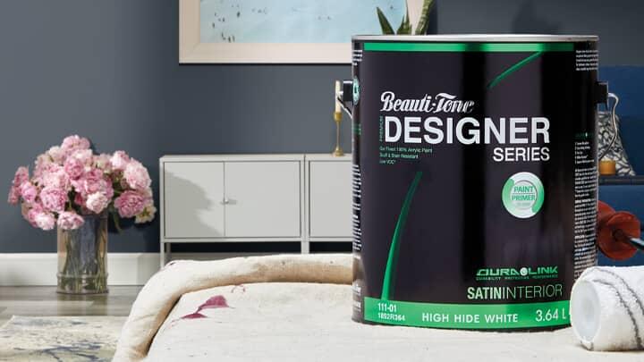Save 25%  Beauti-Tone Designer Series Interior Paint