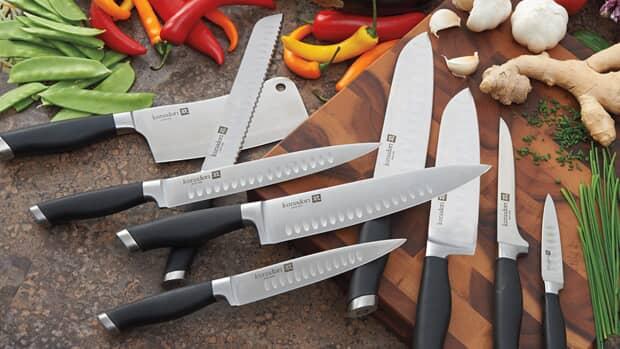Knives, Cutlery & Serving Utensils