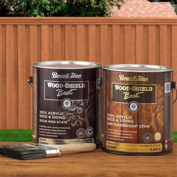 Beauti-Tone Wood Shield Stain