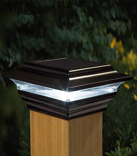 CLASSY CAPS Capuchon solaire de 4 po x 4 po, noir Imperial