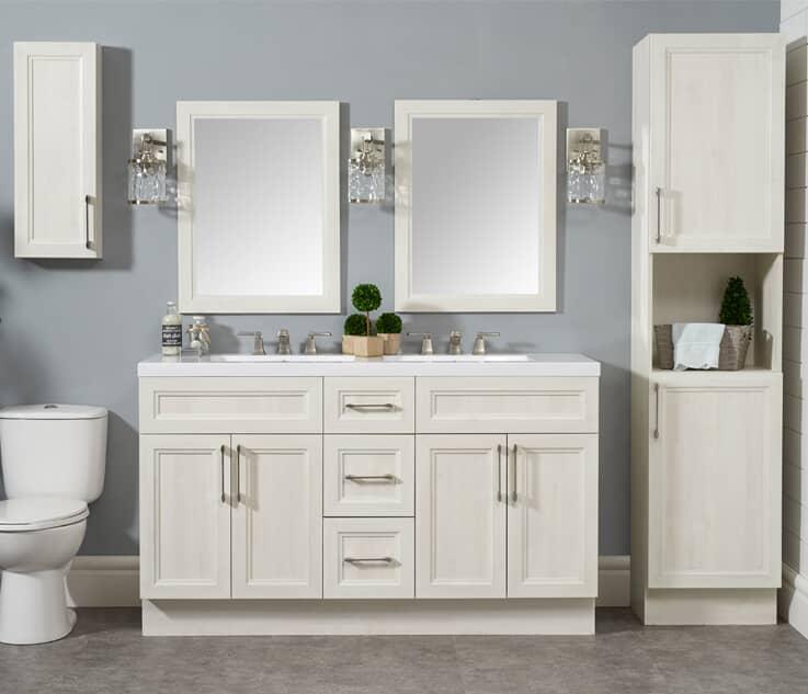 Meubles-lavabos et armoires