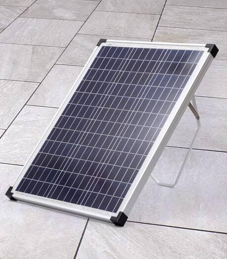 REACTOR Ensemble de panneau solaire cristallin, 50 W