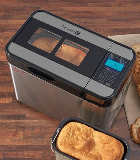 KURAIDORI Machine à pain horizontale de 3 lb à lame double
