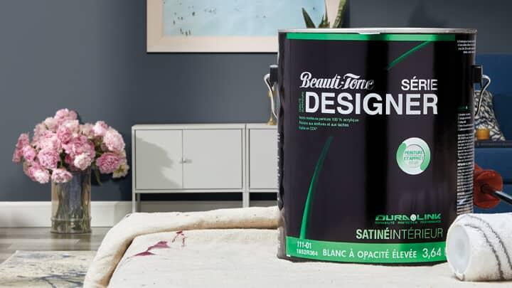 Économisez 25 % Peinture d'intérieur Beauti-Tone Série Designer