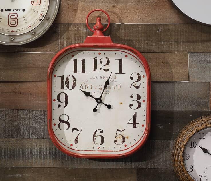 Clock thumb