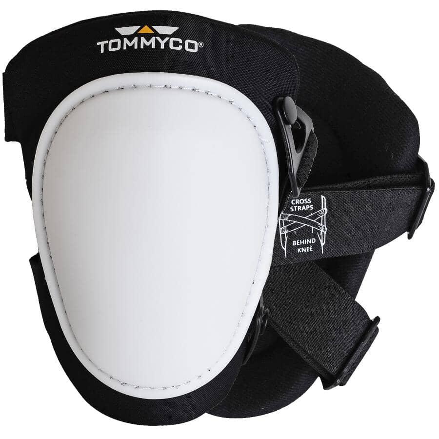 TOMMYCO:T-Foam Hard Terrain Kneepads - Large Cap, White