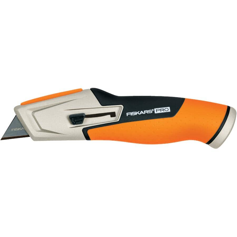 FISKARS:Pro Retractable Utility Knife