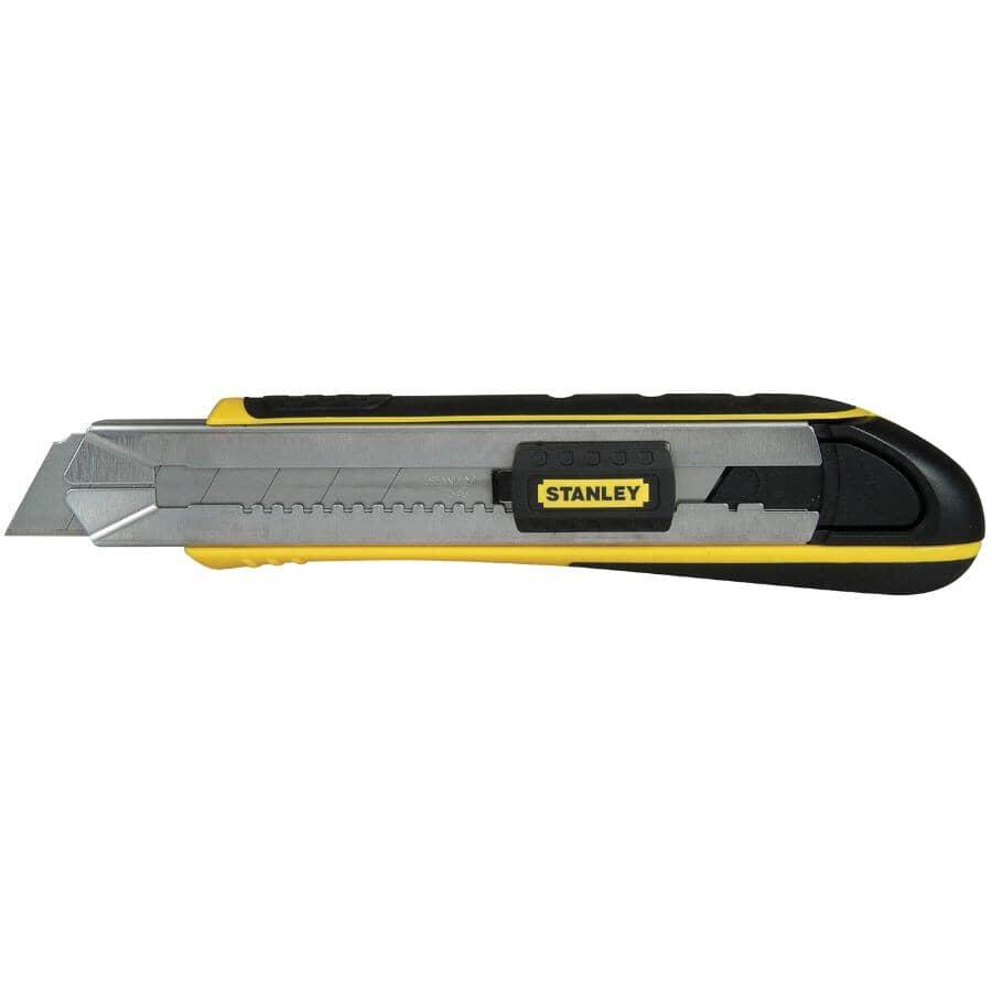 STANLEY:Couteau utilitaire Fatmax de 25 mm à lame cassable