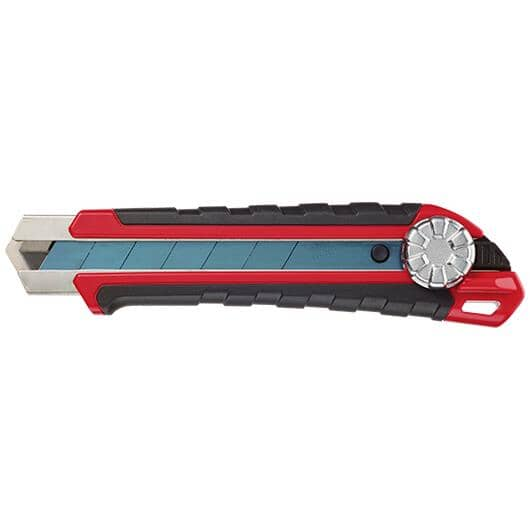 MILWAUKEE:Snap Off Precision Cut Blade Utility Knife - with Metal Lock, 25 mm, Heavy Duty