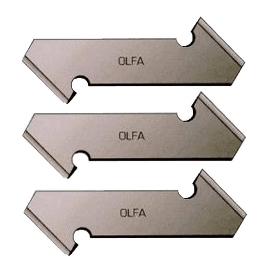 OLFA:3 Pack Plastic/Laminate Knife Blades