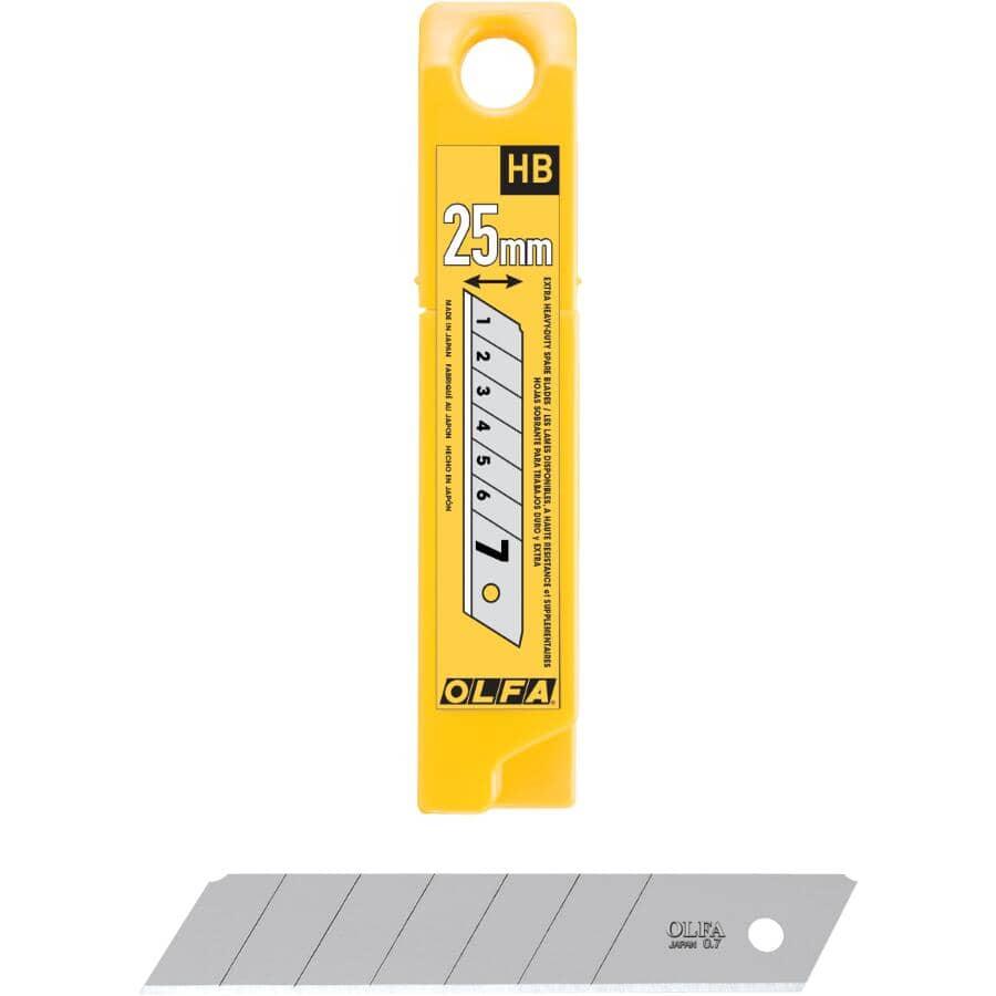 OLFA:20 Pack 25mm  SanpOff Utility Blades