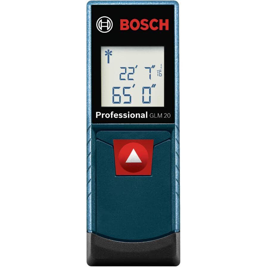 BOSCH:Appareil de mesure électronique au laser, 65 pi