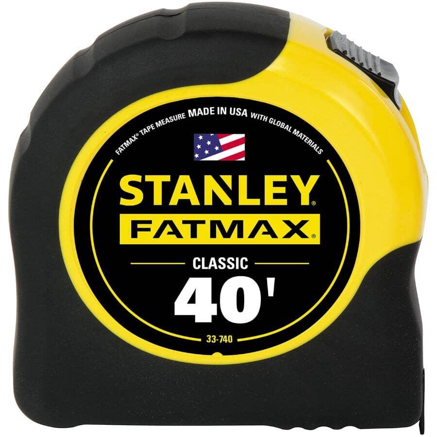"STANLEY:1-1/4"" x 40' Fatmax Tape Measure"