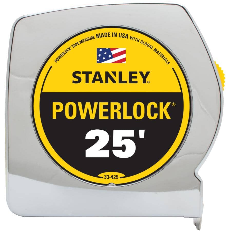 "STANLEY:1"" x 25' Powerlock Tape Measure"