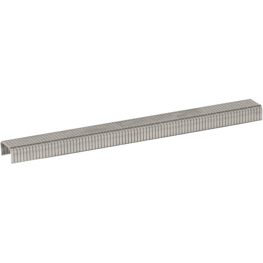 """ARROW:1000 Pack 1/4"""" Stainless Steel Staples, for T50 Stapler"""