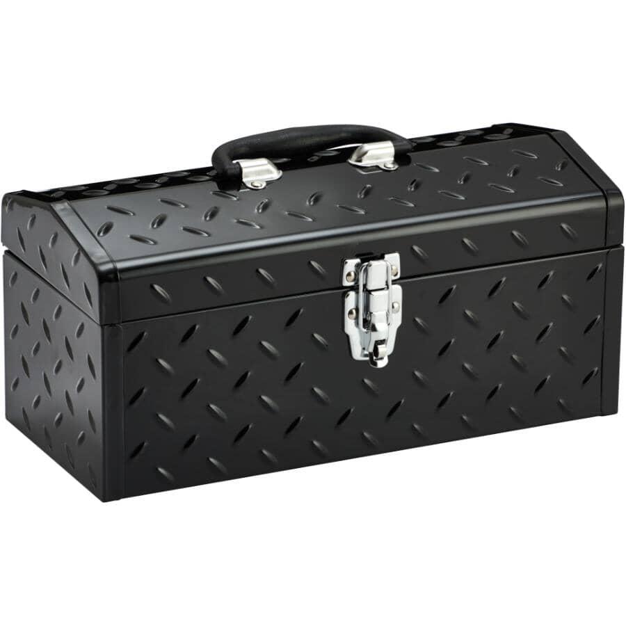 """BENCHMARK:16"""" x 7"""" x 8"""" Tool Box, with Tray"""