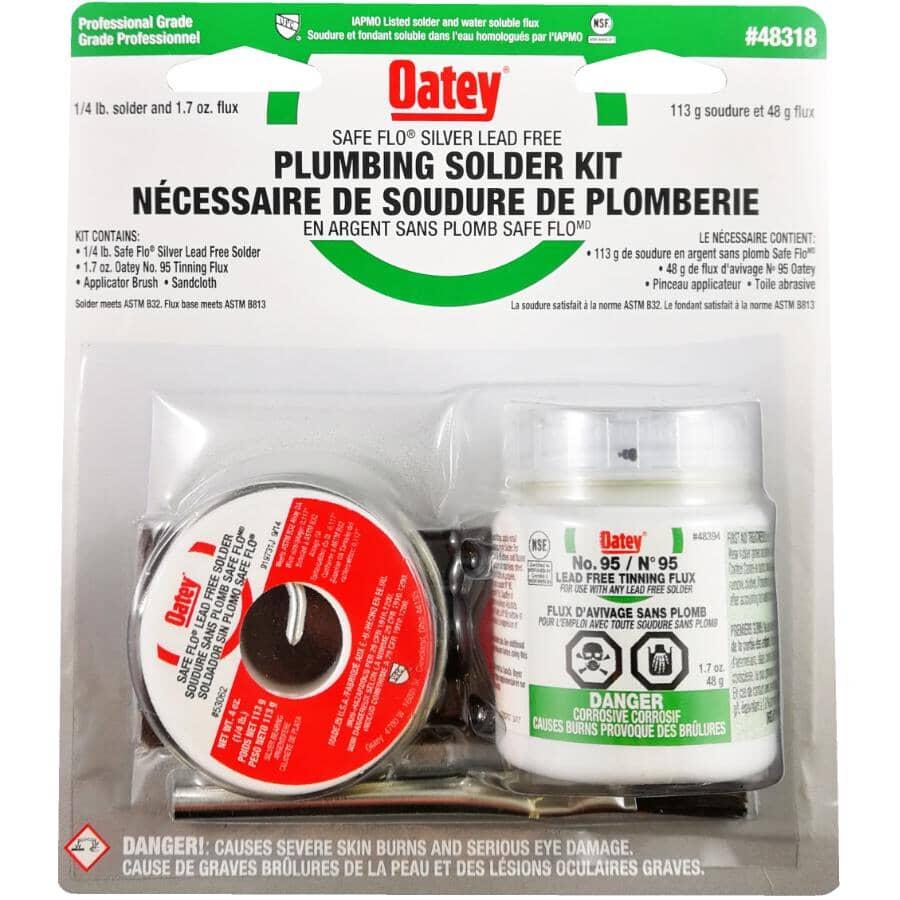 OATEY:Lead Free Solder Plumbers Kit