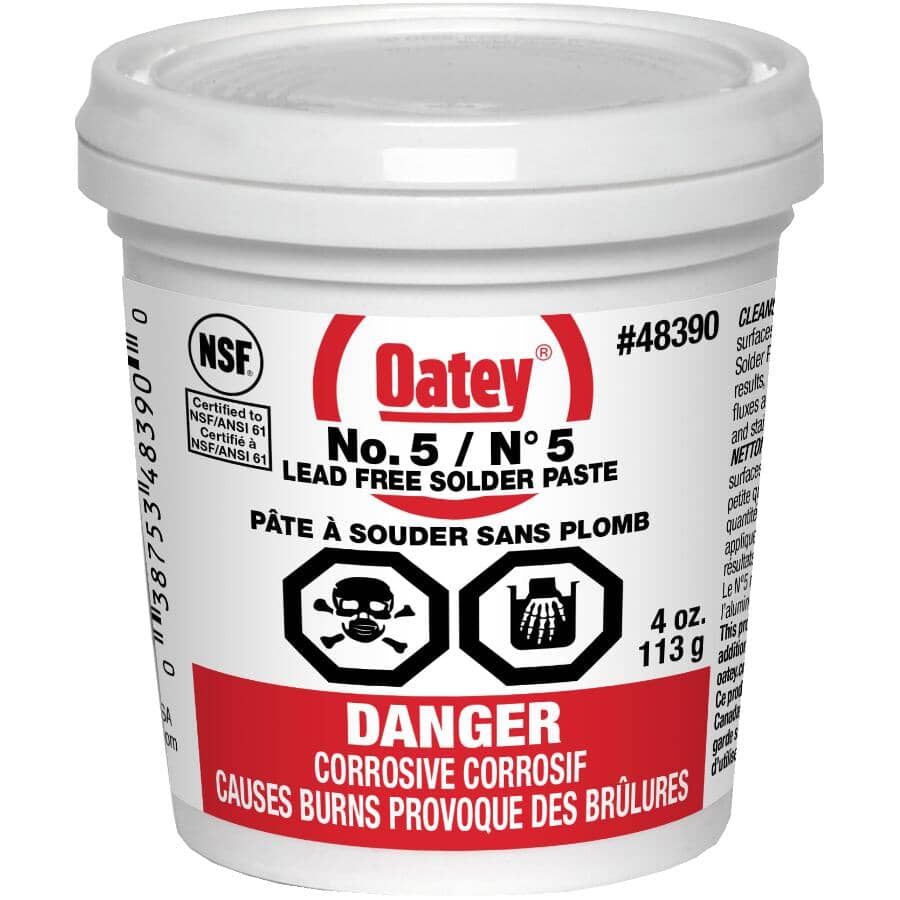 OATEY:113g Lead Free Soldering Paste