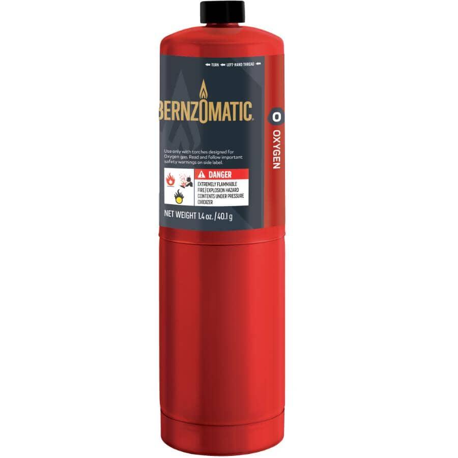 BERNZOMATIC:Bouteille d'¿oxygène, 1,4 oz