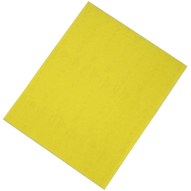 """SIA:80 Grit Aluminum Oxide Sandpaper - 9"""" x 11"""""""