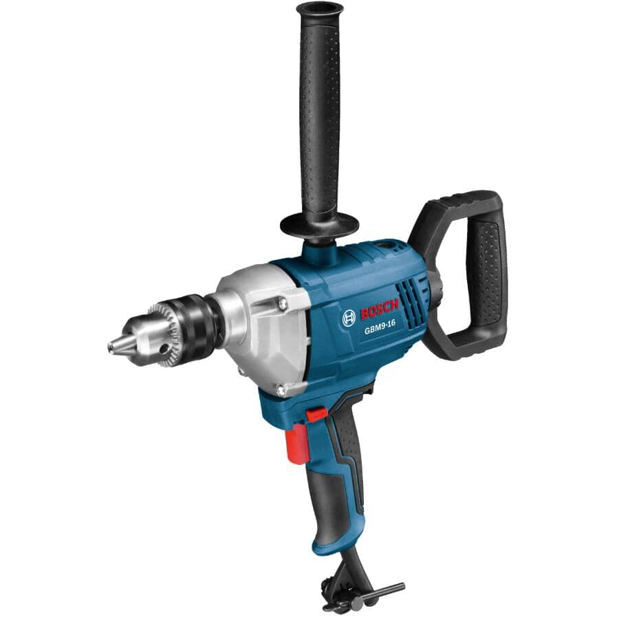 """BOSCH:5/8"""" Corded Drill / Mixer - with Spade Handle, 9 Amp"""