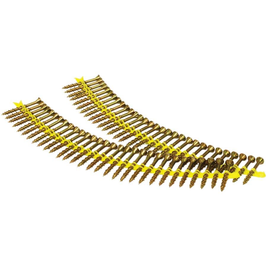 "SIMPSON STRONG-TIE:2000 Pack #9 x 2"" Coarse Thread Strip Floor Screws"