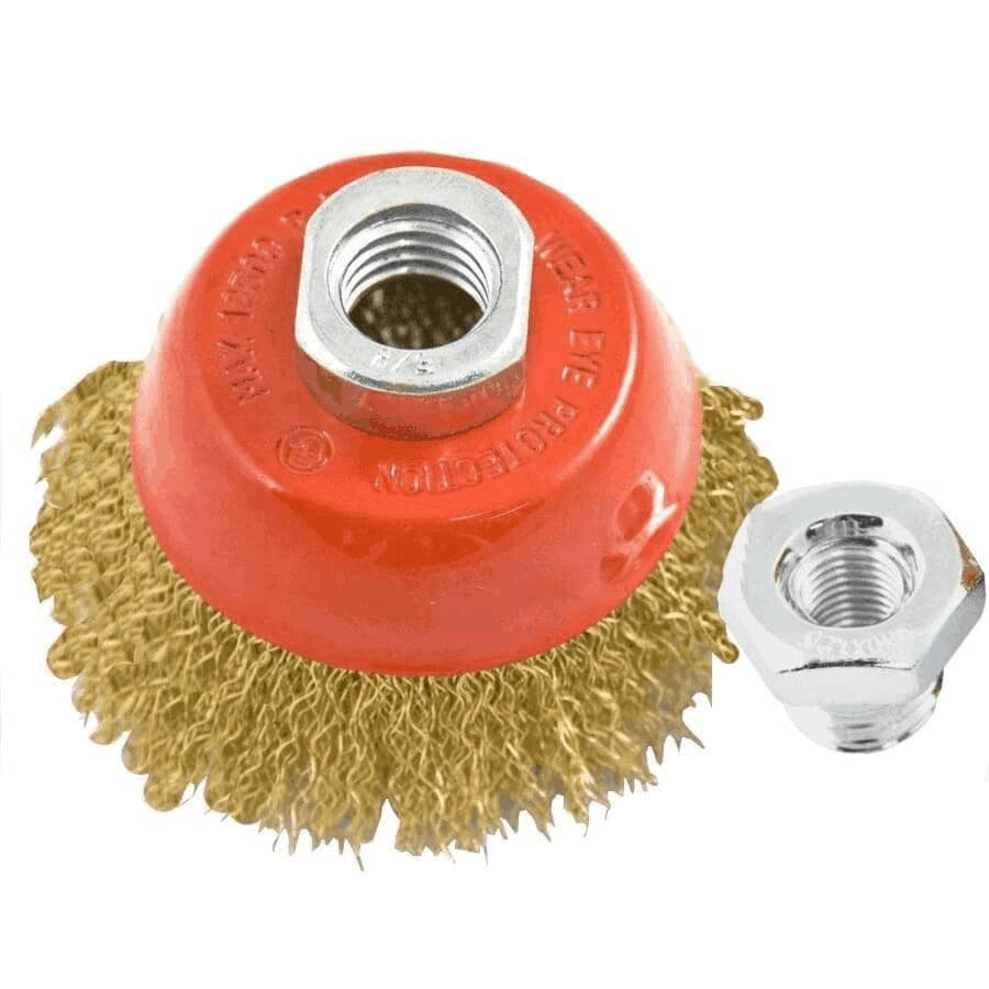 """BENCHMARK:2-1/2"""" Crimped Wire Cup Brush"""