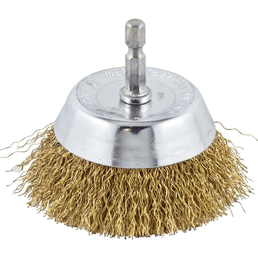 """BENCHMARK:3"""" Coarse Wire Cup Brush"""