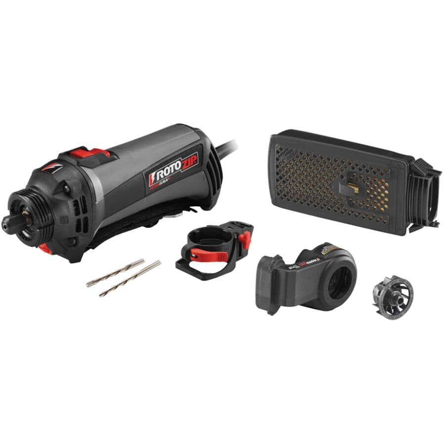 ROTOZIP:6 Amp Spiral Saw Kit, with Dust Vault