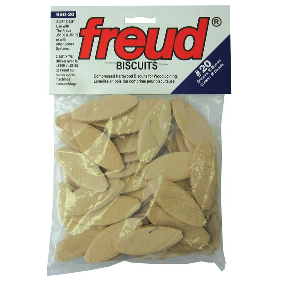 FREUD:50 Pack #20 Plate Joiner Biscuits