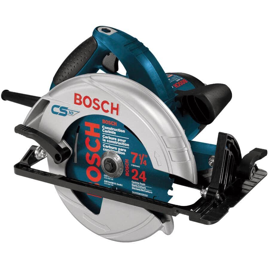 BOSCH:Scie circulaire de 7-1/4 po avec moteur de 15 A (CS10)