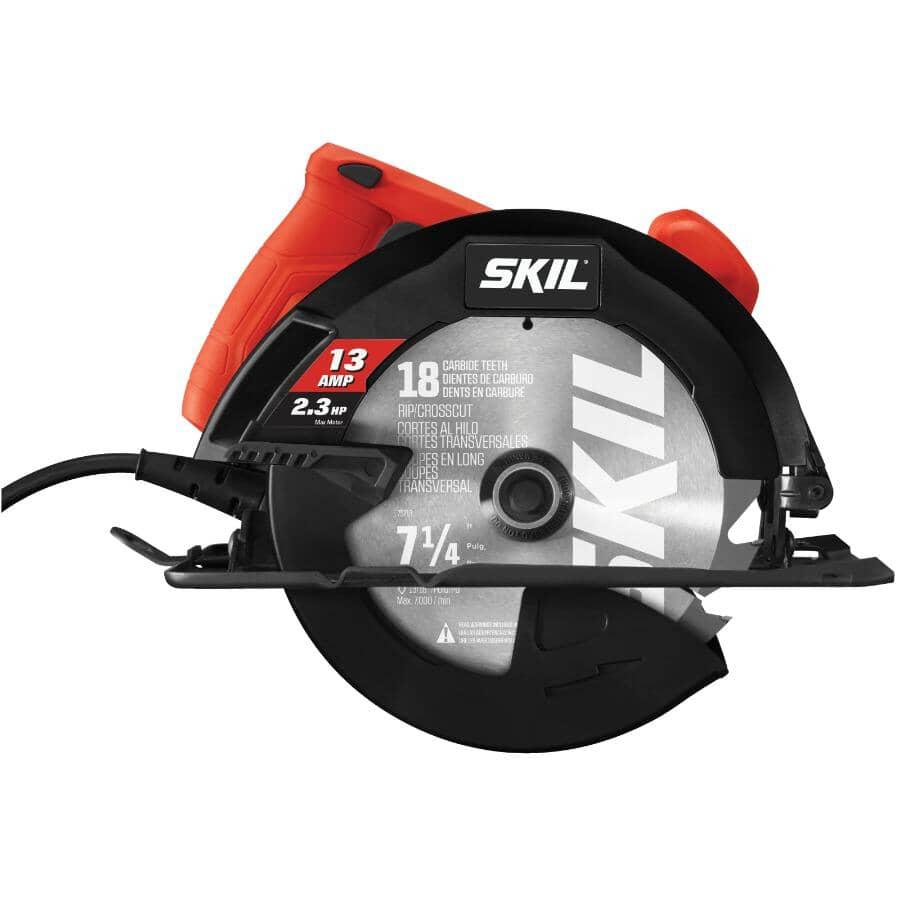 """SKIL:7-1/4"""" 13 Amp Circular Saw"""
