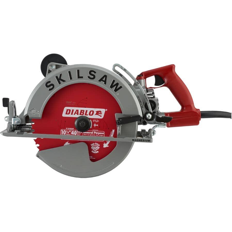"SKILSAW:10-1/4"" 15 Amp Worm Drive Circular Saw"