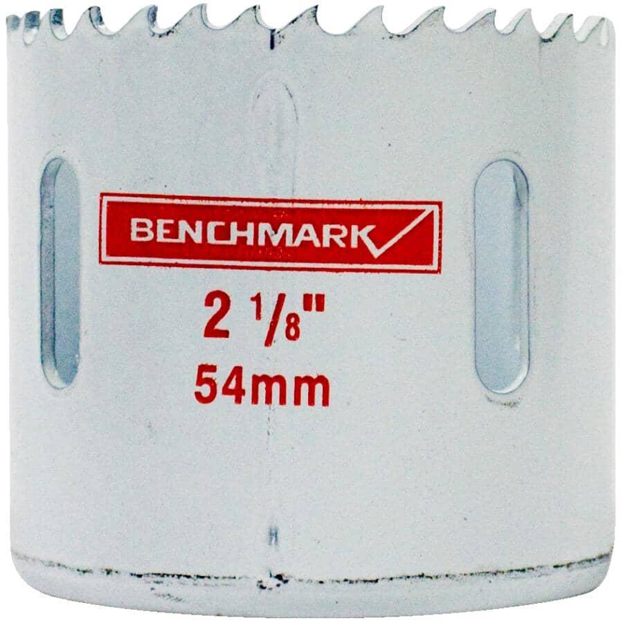 """BENCHMARK:2-1/8"""" Bi-Metal Hole Saw"""
