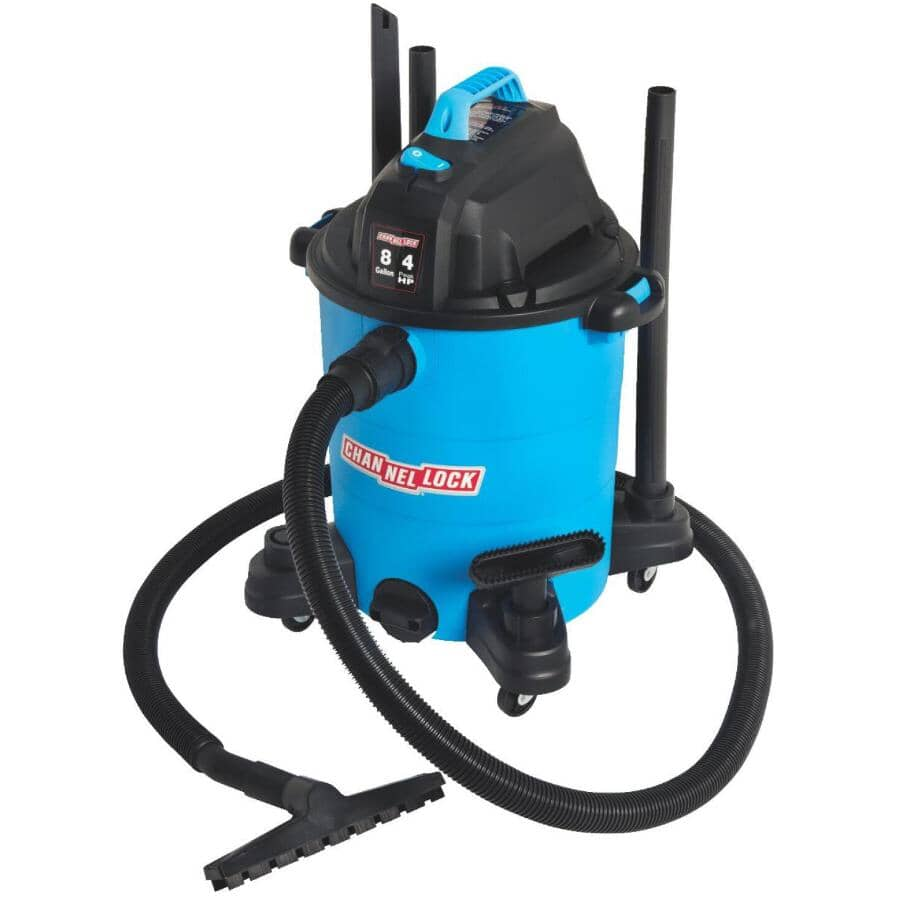 CHANNELLOCK:8 Gal Wet/Dry Vacuum