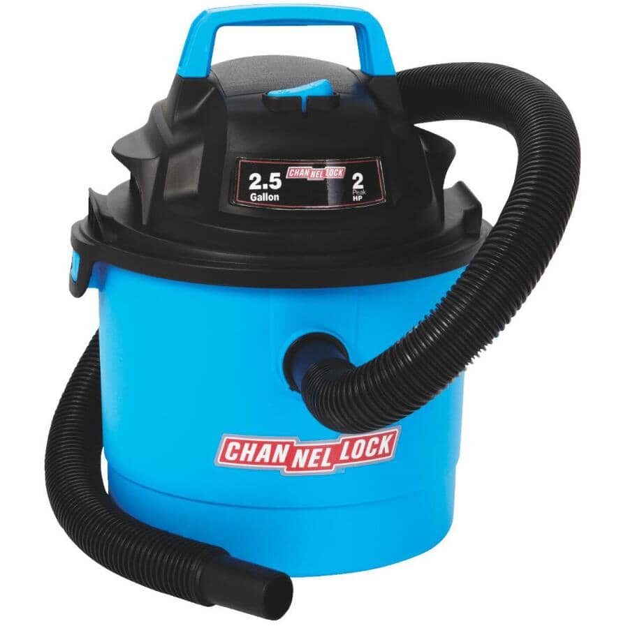 CHANNELLOCK:2.5 Gal Wet/Dry Vacuum