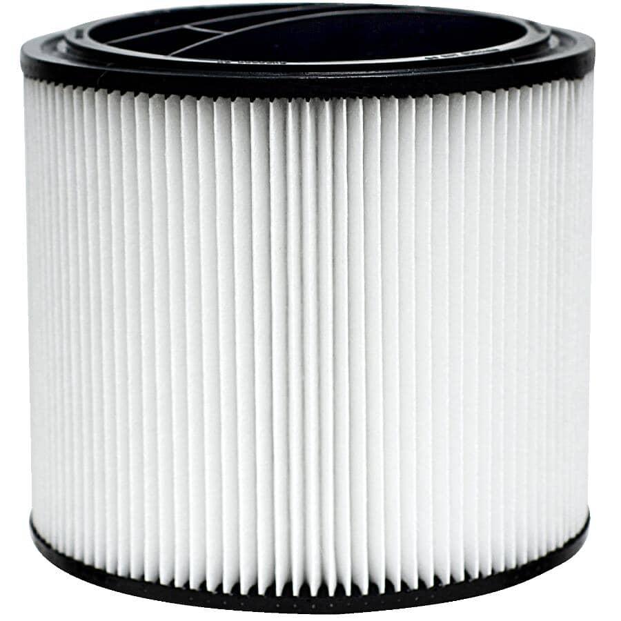 FILTERPOWER:Wet/Dry Vacuum High Efficiency HEPA Filter