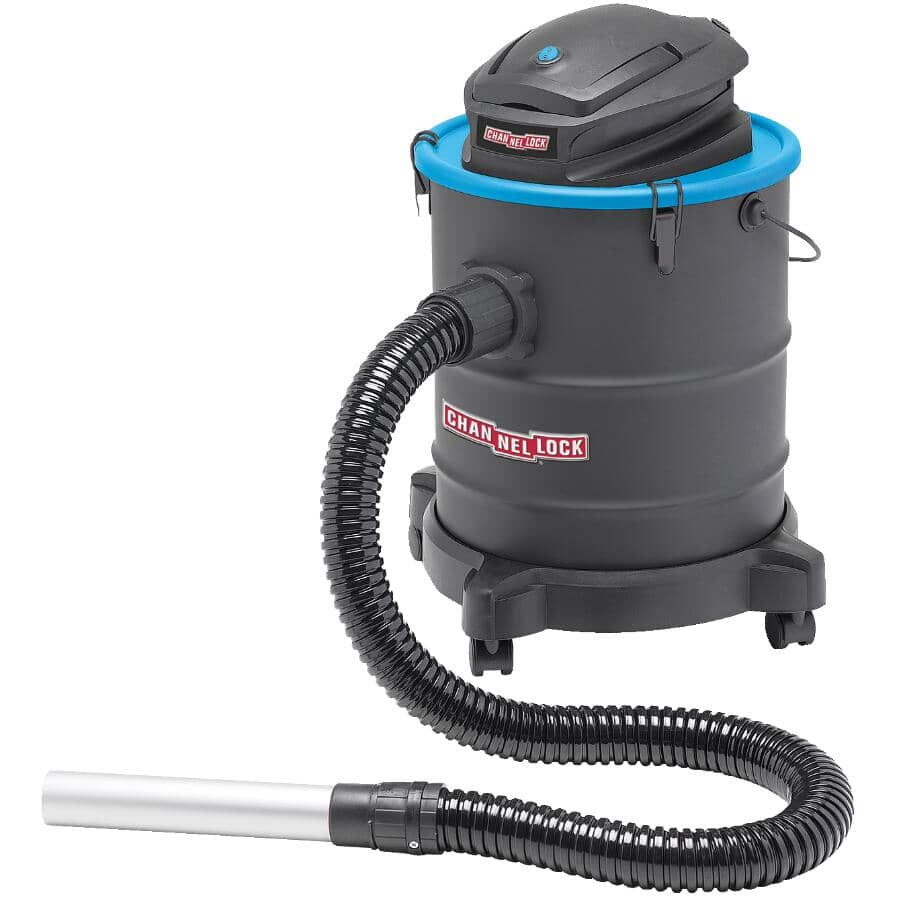 CHANNELLOCK:4.8/5.8 Gal Ash Vacuum - with Hose and Wand