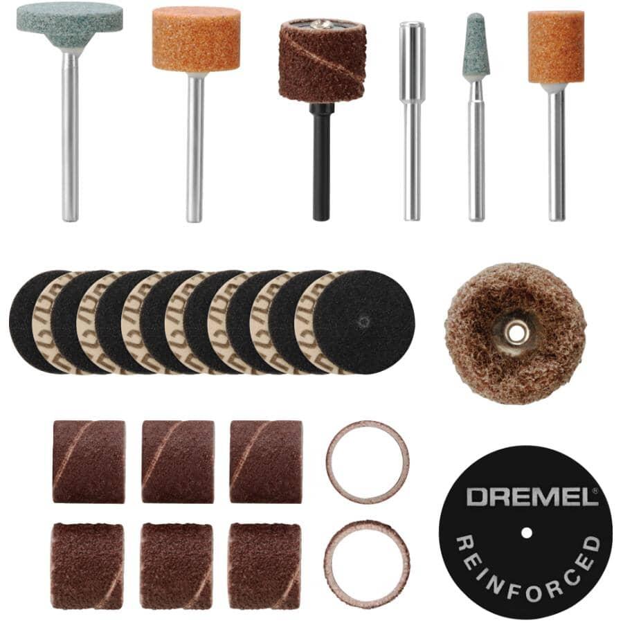 DREMEL:31 Piece Sanding/Grinding Accessory Set