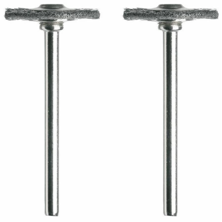DREMEL:2 Pack Clean and Polish Steel Brushes