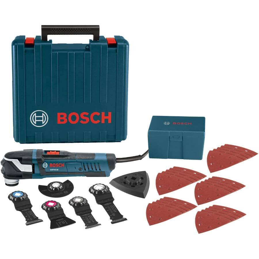 BOSCH:Starlock Oscillating Tool Kit - 32 Piece