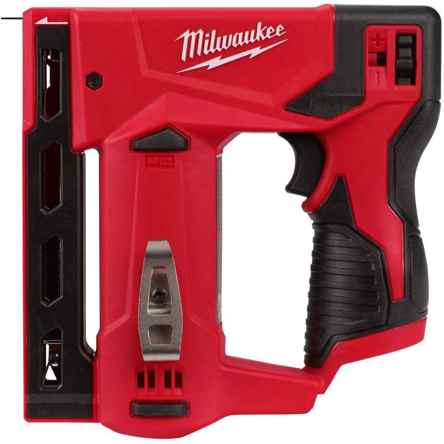 """MILWAUKEE:M12 Crown Stapler - 12V, 3/8"""""""