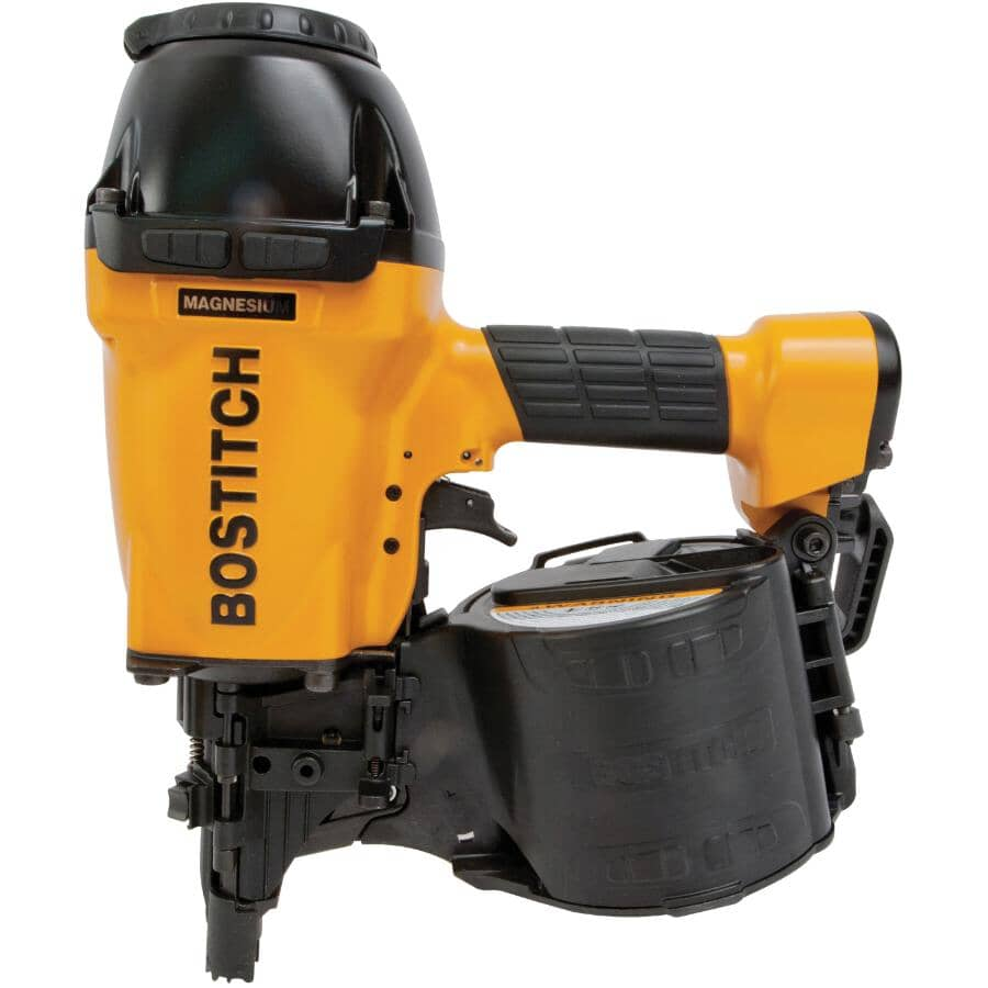 """BOSTITCH:2"""" to 3-1/2"""" 15 Degree Coil Framing Nailer"""