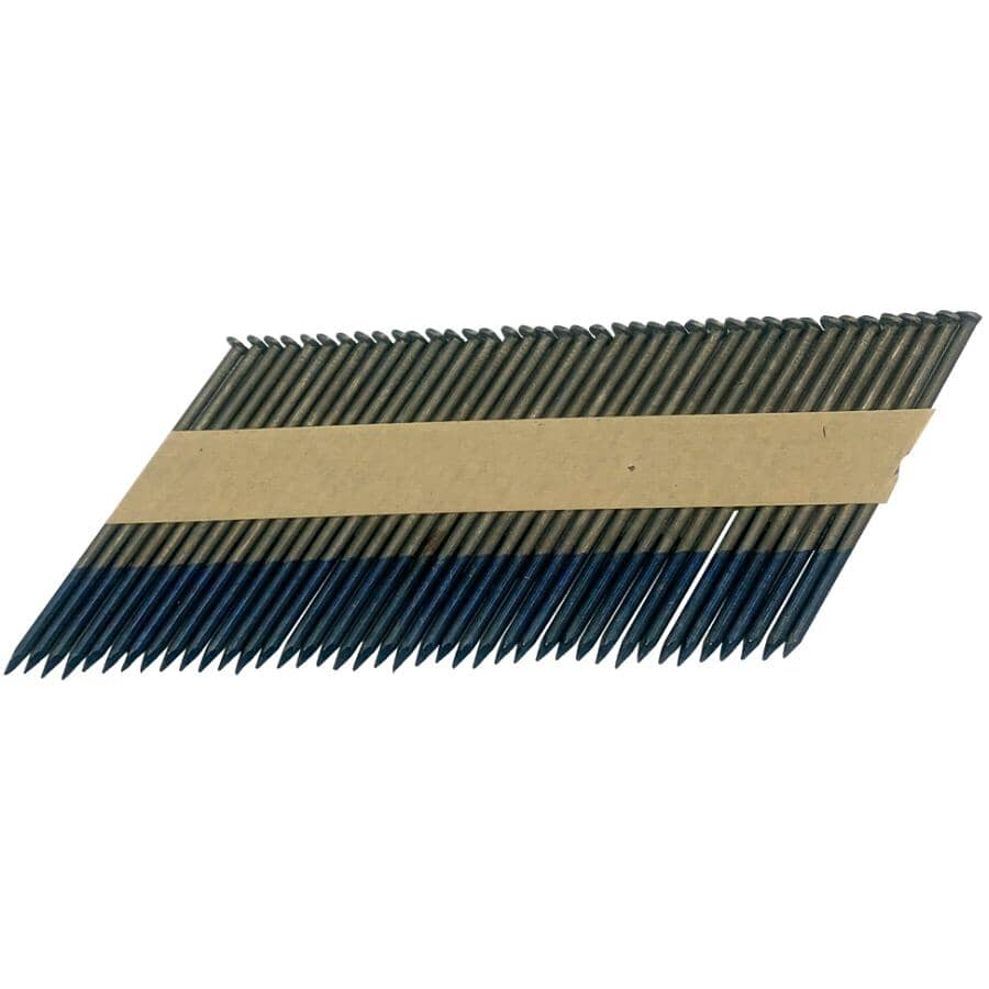 """CRISP-AIR:2500 Pack 2-3/8"""" 33 Degree Smooth Clipped Head Nails"""