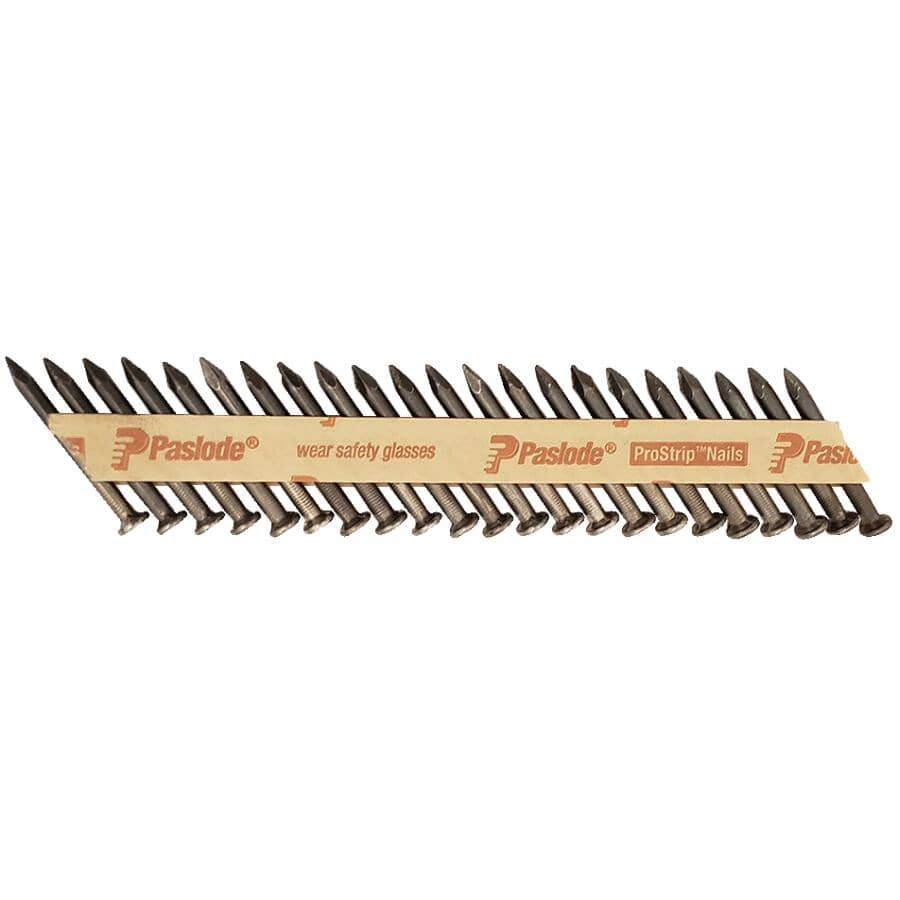 "PASLODE:2500 Pack 2-1/2"" Brite Joist Hanger Nails"