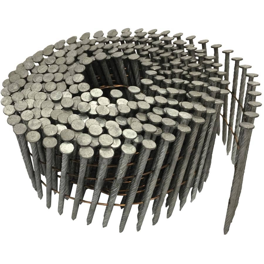 "CRISP-AIR:3600 Pack 2-1/4"" Spiral Coil Framing Nails"