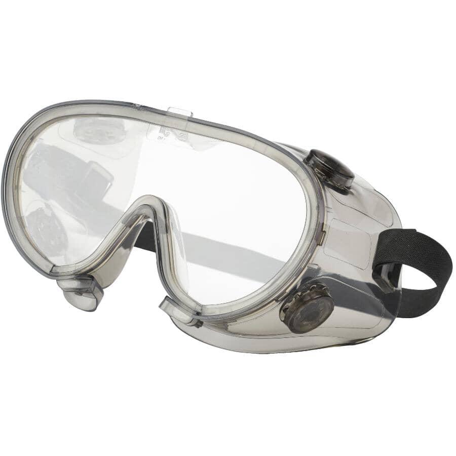 WORKHORSE:Anti-Fog Safety Goggles - Clear