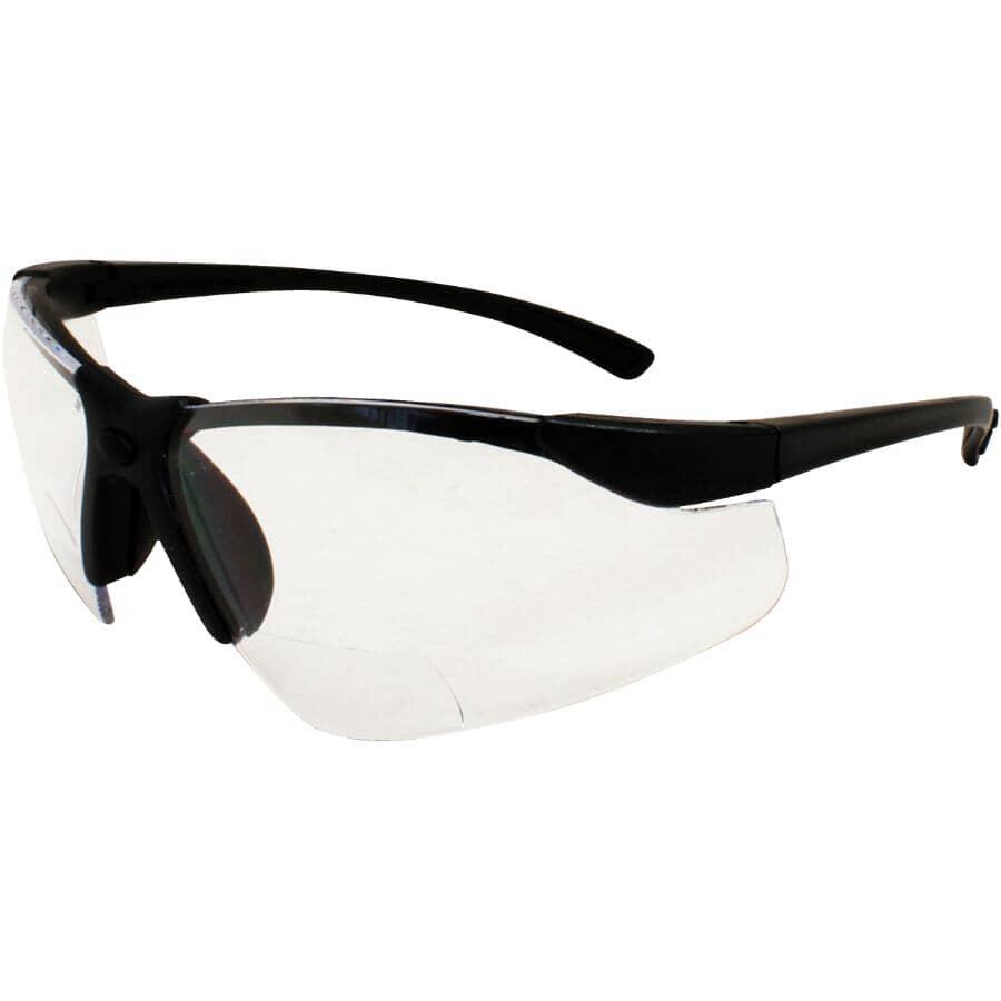 WORKHORSE:Bi-Focal Safety Glasses - 2.0 Magnifier