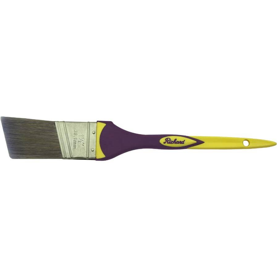 "RICHARD:Elegance Angular Paint Brush - 1.5""/38 mm"