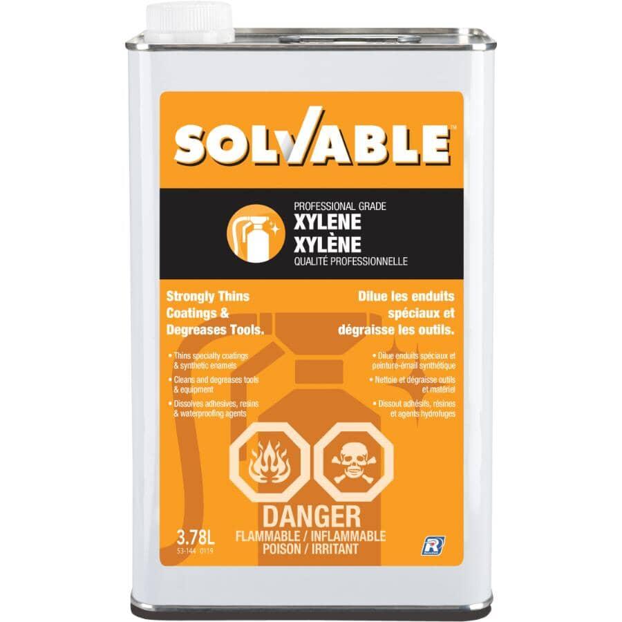 SOLVABLE:3.78L Xylene Solvent